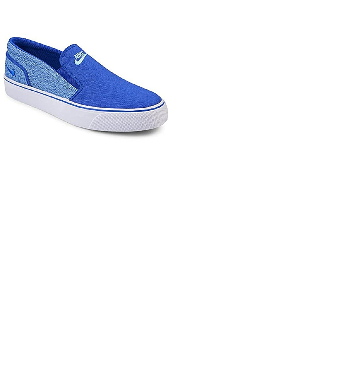 NIKE Women's Toki Slip Canvas Fashion Sneakers Racer Blue 724770 443 B00Y19FUF6 7 B(M) US