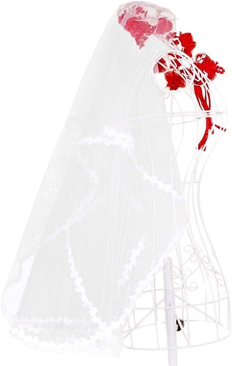 Oyfel Voile De Mariee Elegant Bridal Veil Voile De La Mariage Femme Mariage Blanc Bride To Be Voile En Argent Une Seule Couche 1 4 M Bande De Satin Amazon Fr Cuisine Maison