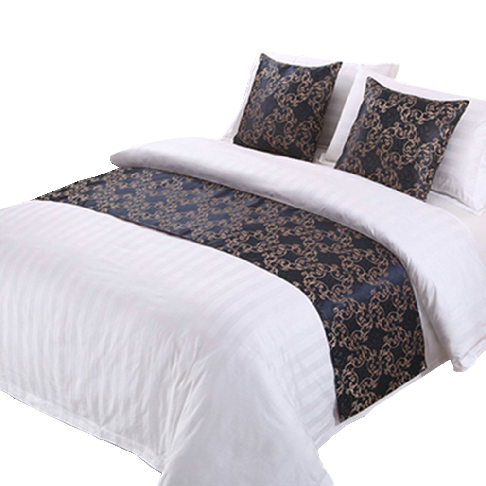 Y-Step Vintage Bed Runner Pillowcase Bedding Tail Pad Flag Hotel Decoration