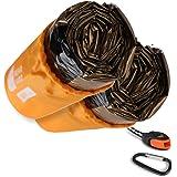Bearhard Emergency Sleeping Bag Emergency Gear Bivy Sack Ultralight Waterproof Thermal Survival Bivvy Bag with Heat…