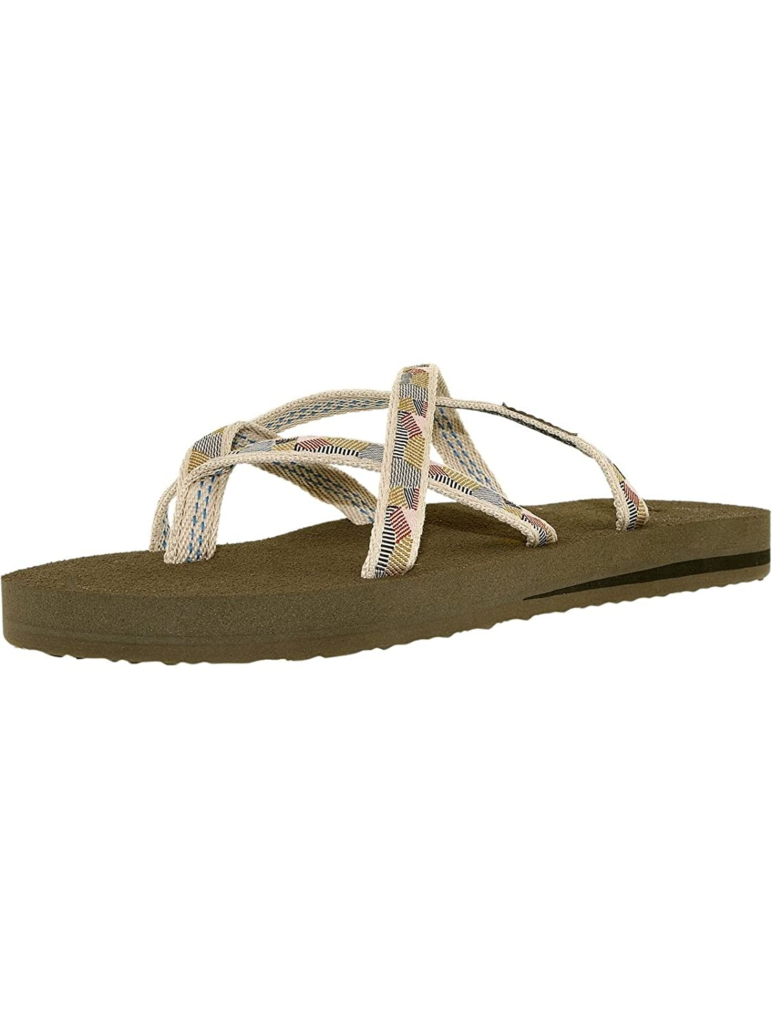 Teva Olawahu, Sandales femme femme Gold Waterfall-antique B07D9LT9HV Gold 94a1e4f - automaticcouplings.space