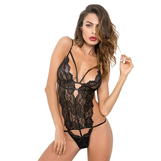 79a6fa87fc4 Ninasill Woman Large Size Sling Mesh Lingerie Sexy Hollow Thin Belt Lace  Embroidery Tight Erotic Underwear