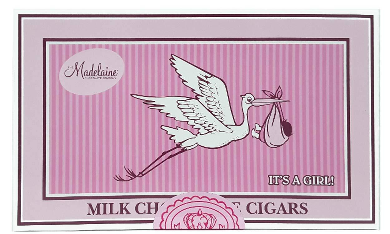 Amazon.com : Madelaine Chocolate-It\'s A Boy Milk Chocolate Cigars ...