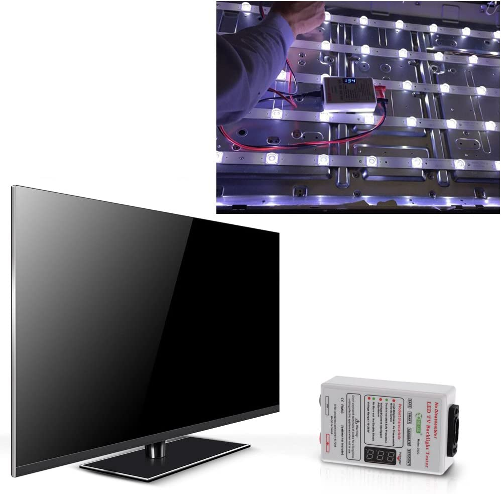 KKmoon - Probador portátil de luz trasera del televisor, lámpara led, cinta luminosa, test de diodo AC110 – 265 V DC0 – 300 V: Amazon.es: Electrónica