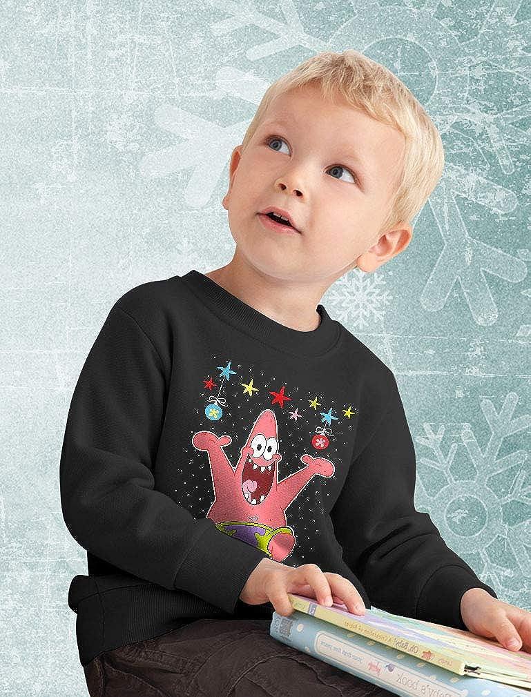 Spongebob Tstars Patrick Ugly Christmas Toddler//Kids Sweatshirt
