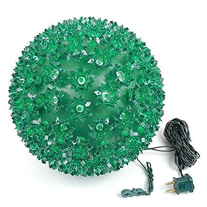 Novelty Lights 150 Light Outdoor Christmas LED Starlight Sphere 10 Diameter 10 Diameter Red