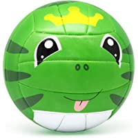 PP PICADOR Kids Volleyball Size 3 Cute Cartoon Toddler Ball with Pump for Girl Boys Gift Home Outdoor
