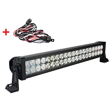 "Faro Trabajo Led, BRIGHTUM 21.5"" 120W Super Bright y Potentes Focos Led Coches 6000K"