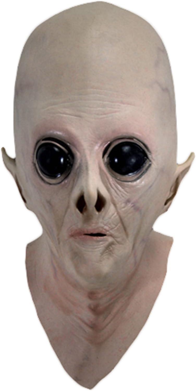 Realista UFO Alien cabeza máscara de látex de Scary disfraces ...