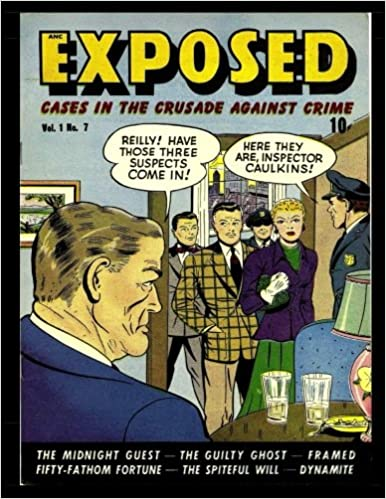 exposed 7 golden age crime comic 1949 kari a therrian d s