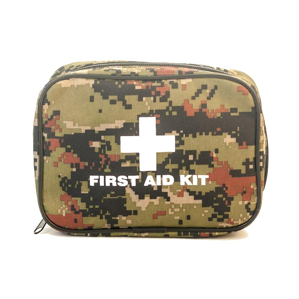 82 Compact First aid Kits  Including Thermal Blankets, respirators, Compass, Suitable for Travel, Family, Office, car, Camping, Workplace
