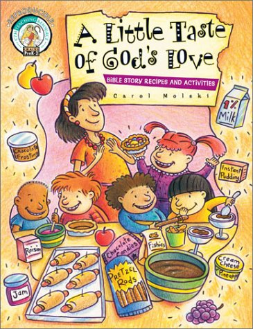 Download A Little Taste of God's Love: Bible Story Recipes and Activities pdf epub
