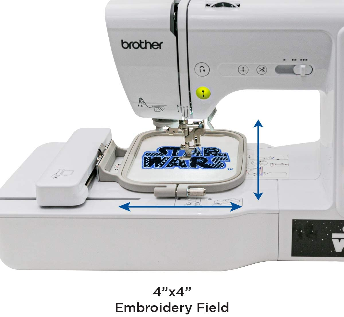 Brother Sewing and Embroidery Machine - LB5000S