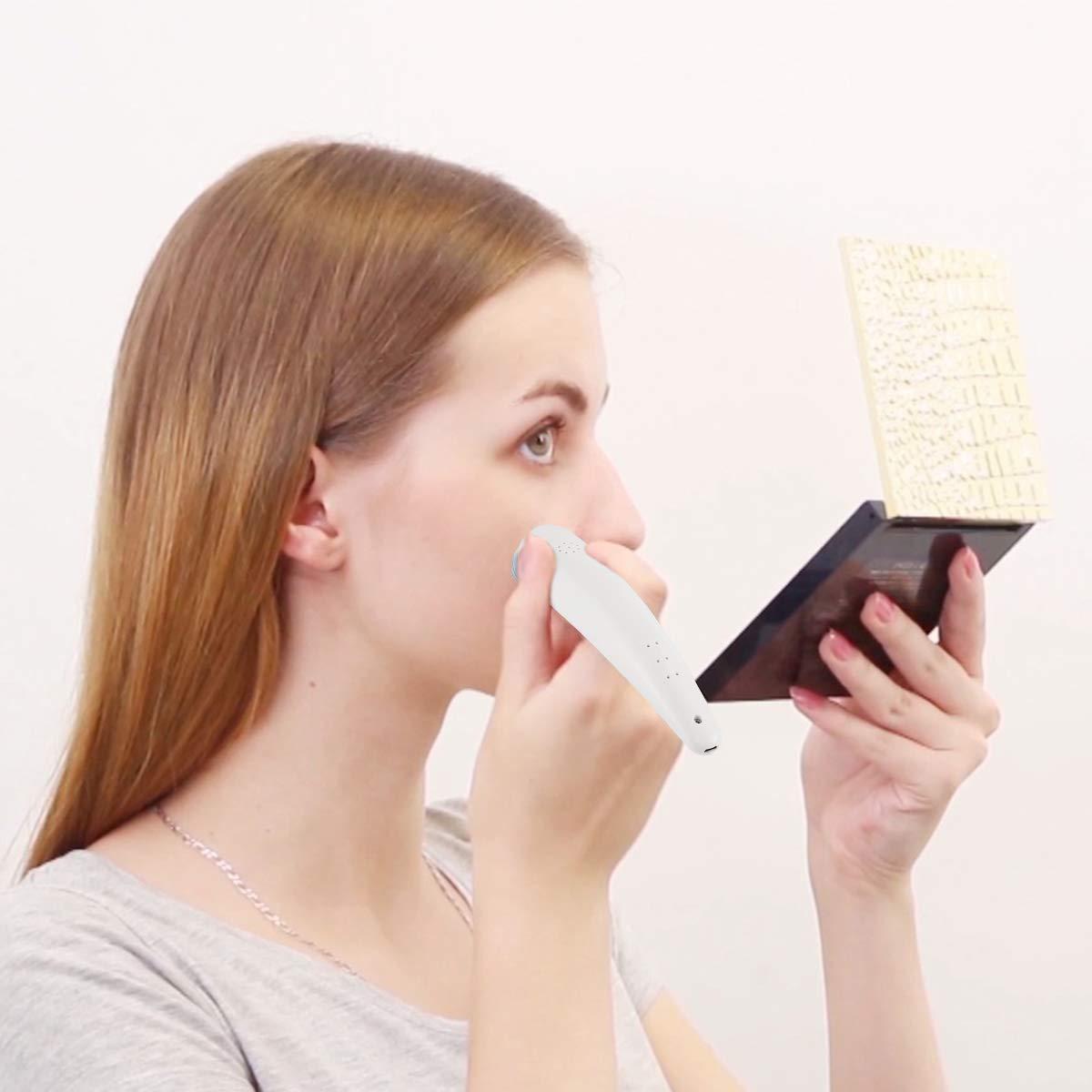 Beautural Saug-Porenreiniger und Mitesser Entferner, USB wiederaufladbares elektrisches Vakuum Beauty-Gerät und Akne- und Hautunreinheiten-Entfernungsgerät, Pickel-Extraktor und Microdermabrasion Peeling-Maschine für Frauen und Männer