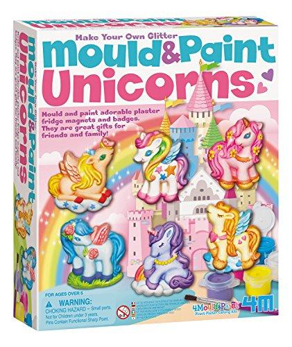 4M Unicorns Mould & Paint Kit