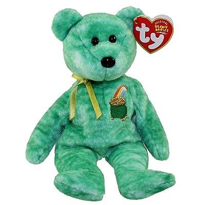 Ty Beanie Baby - Killarney the Irish Bear: Toys & Games