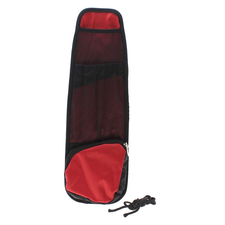 Tfxwerws multi-pocket appeso borsa auto interno sedile side-back gadget Storage organizer–rosso