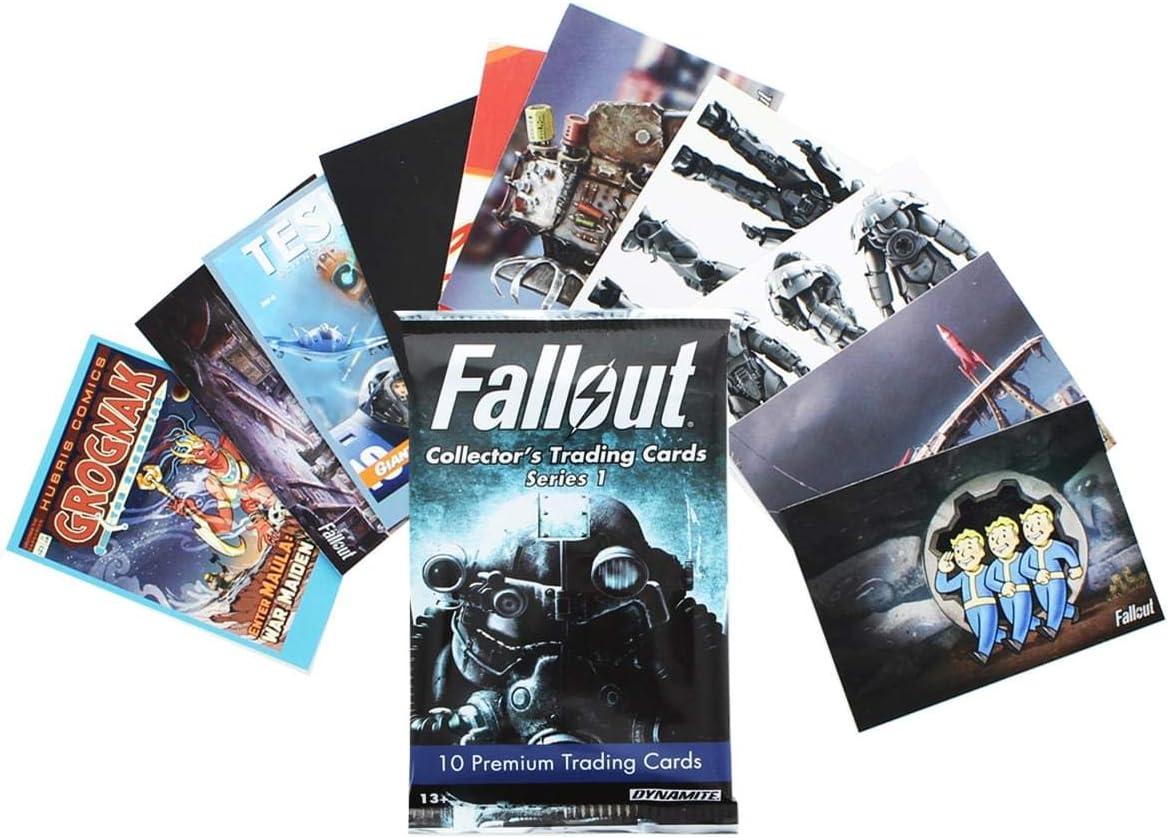 Dynamite Entertainment Fallout Trading Cards Series 1 Sealed Hobby Box Set - 24 Packs: Amazon.es: Juguetes y juegos