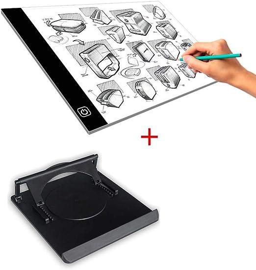 Copy Board Mesa de Luz Dibujo Soporte A4 LED Caja de luz Artista ...