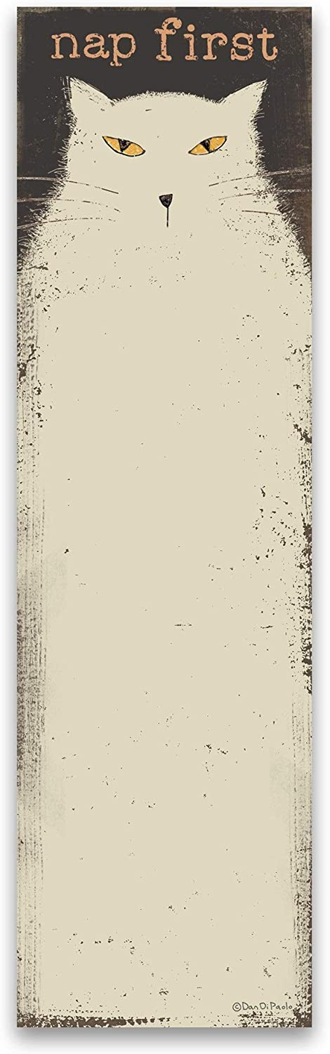 Primitives by Kathy List Notepad Magnetic - Nap First - 60 Pages
