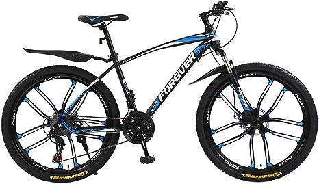 AISHFP Bicicleta de montaña de Velocidad Variable para Hombres ...