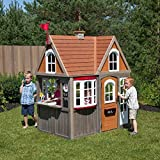 Cedar Summit Greystone Cottage Playhouse