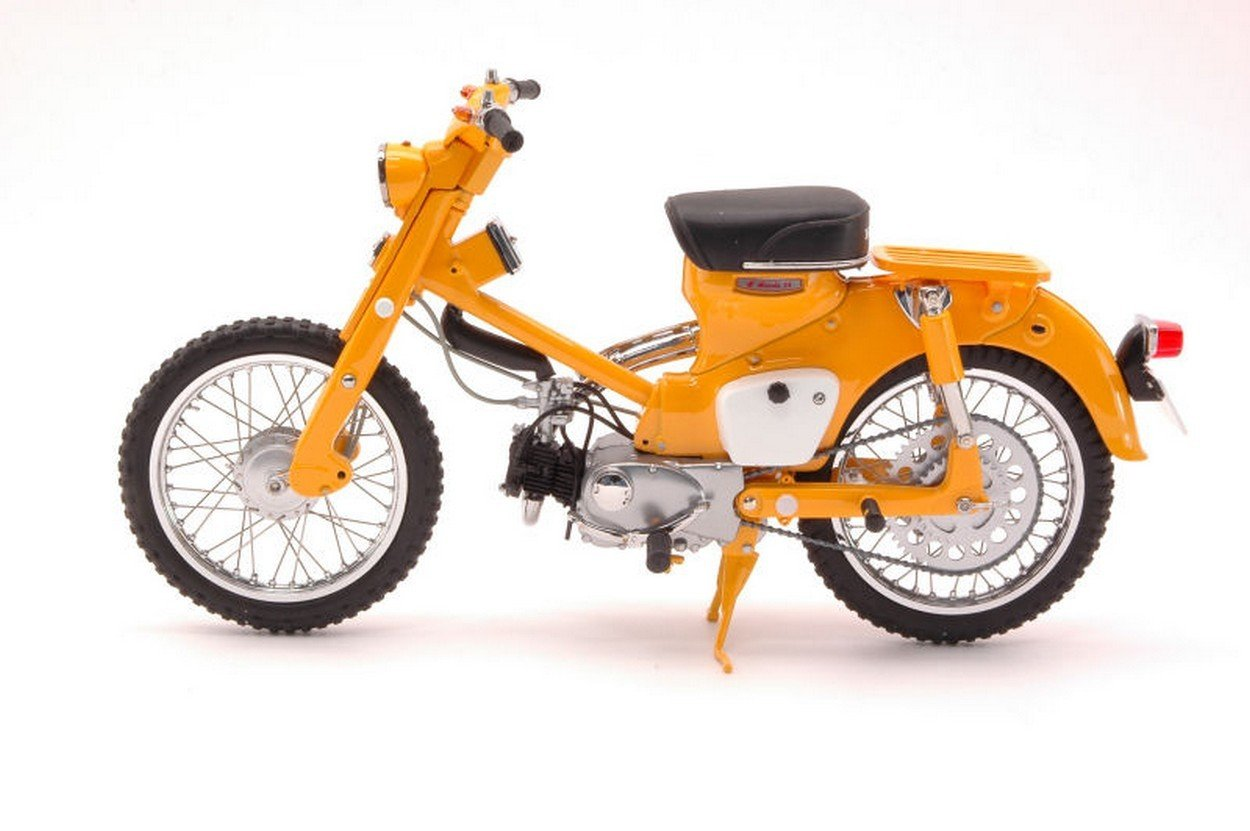 Ebbro EB10025 Honda Hunter CUB C105H 1963 Gelb 1:10 MODELLINO DIE CAST Model