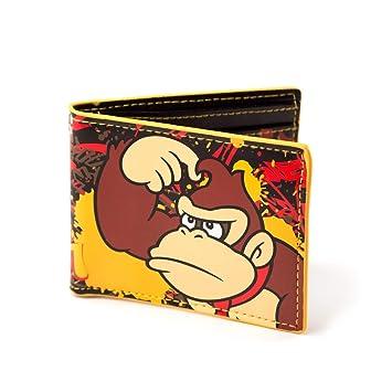 Cartera de Nintendo Donkey Kong retro Amarillo: Amazon.es: Equipaje