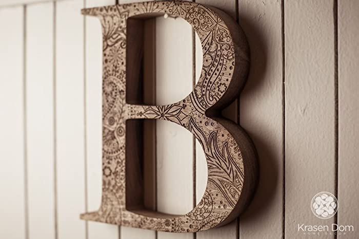 8 engraved wooden letters wooden letters personalized wooden letters free standing letters