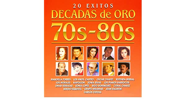 Décadas de Oro: 20 Éxitos by Various artists on Amazon Music - Amazon.com