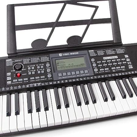 Amazon.com: MG.QING Electric Piano Keyboard Intelligent APP Key Lighting Multi-Function Beginner Teaching Adult Children Piano Keyboard: Sports & Outdoors