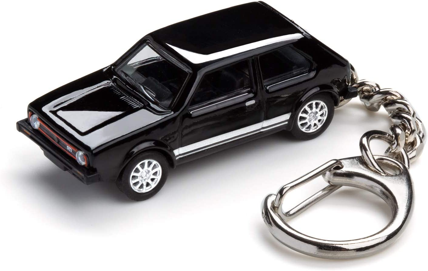 Corpus Delicti Schlüsselanhänger Mit Golf I Gti Schwarz Modellauto Für Alle Auto Und Oldtimerfans 20 9 42 Auto