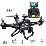 Cewaal X183 Drone con telecamera WIFI grandangolare a 170 ° grandangolare da 5,8 GHz e GPS Home di ritorno, un set di chiavi Funzione GPS di navigazione GPS ad alta frequenza segue automaticamente RC