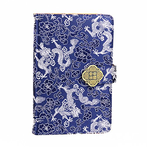 (Chinese Culture Wind Notebook Handmade Personalized notebook, Perfect for Writing, Gifts,study, Professional, Diary notebook)