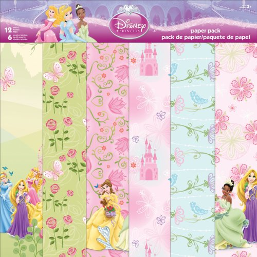 Sandylion Disney Paper Pack, 12 by 12-Inch, ()