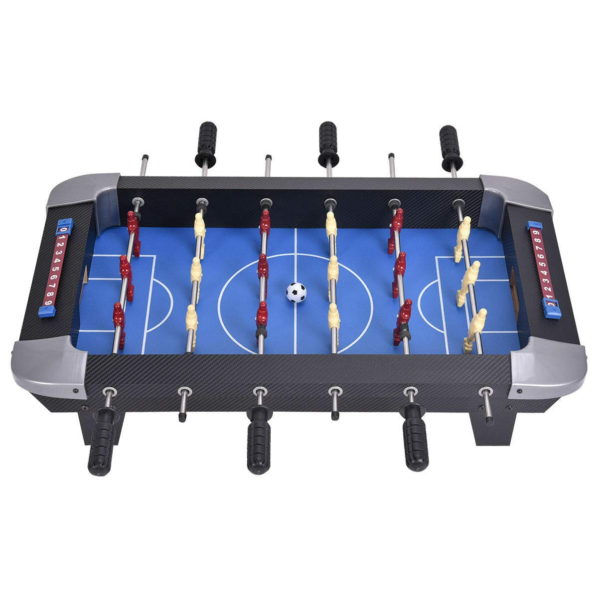 Handybirdy 28'' Mini Foosball Football Soccer Ball Table Game Tabletop Set Portable Kids New Sports Indoor by Handybirdy