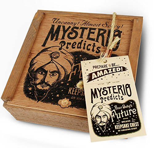 Mysterio Predicts - Baby Keepsake Gift Set by Wry Baby