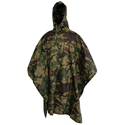 .com : 5ive Star Gear Gi Spec Lightweight Poncho W/P R/S 3102000 : Clothing : Sports & Outdoors