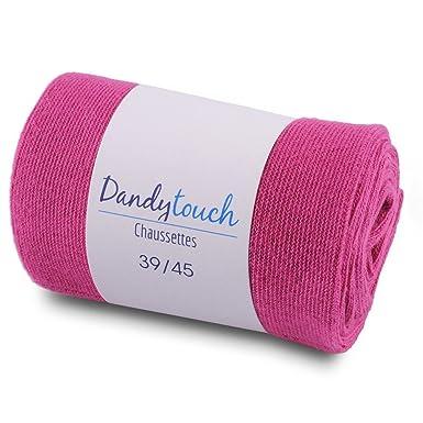 e2cf0fbc6f6cf Dandytouch Chaussettes Jersey Homme unies Rose Fuchsia 39-45 - Fabriqué en  europe: Amazon.fr: Vêtements et accessoires