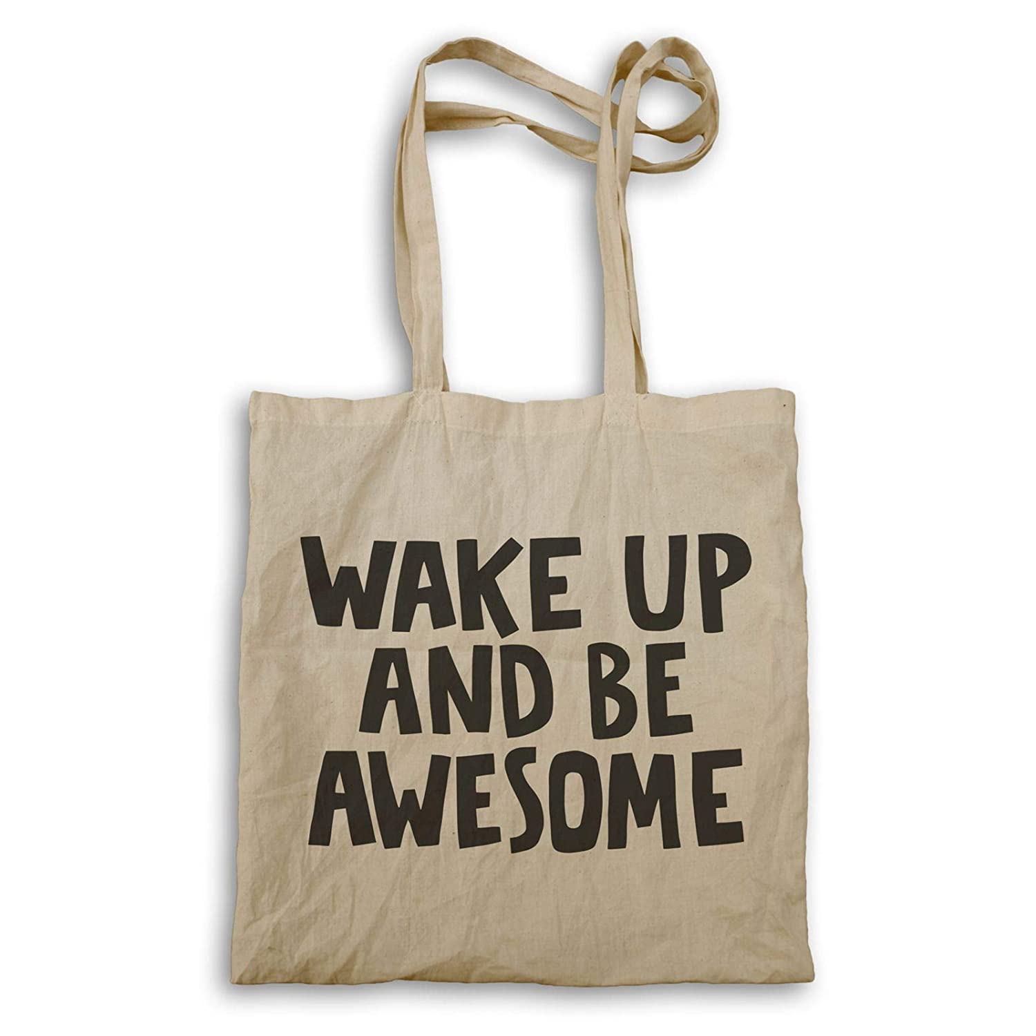 INNOGLEN Wake Up and Be Awesome Sac à Main ee643r