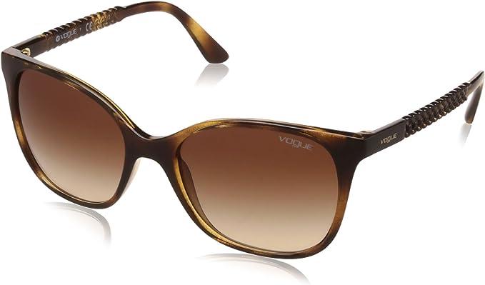 Vogue Eyewear 0vo5032s W65613 54 Occhiali Da Sole Marrone Dark Havana Browngradient Donna Amazon It Abbigliamento