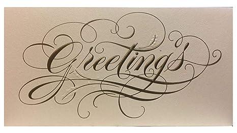 Amazon com : (16) Formal Christmas Greetings Holiday Cards