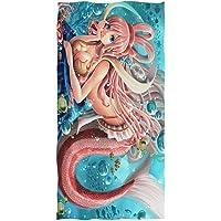 SCVBLJS Toallas De Playa Marina Creativa Estampado De Calavera Manta Mujer Hombre S/ábana De Ba/ño Nadar Suave Al Aire Libre Cubierta De Toalla Grande Estera De Yoga para Ni/ñas Ni/ños Adultos
