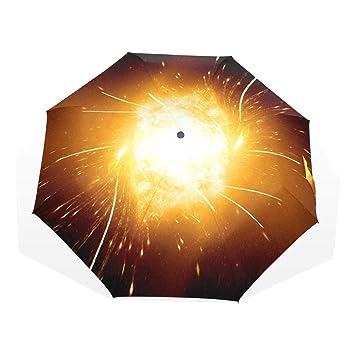 b35549952f6d Amazon.com: Umbrella Galaxy Stars Space Starry Universe Night Sky ...