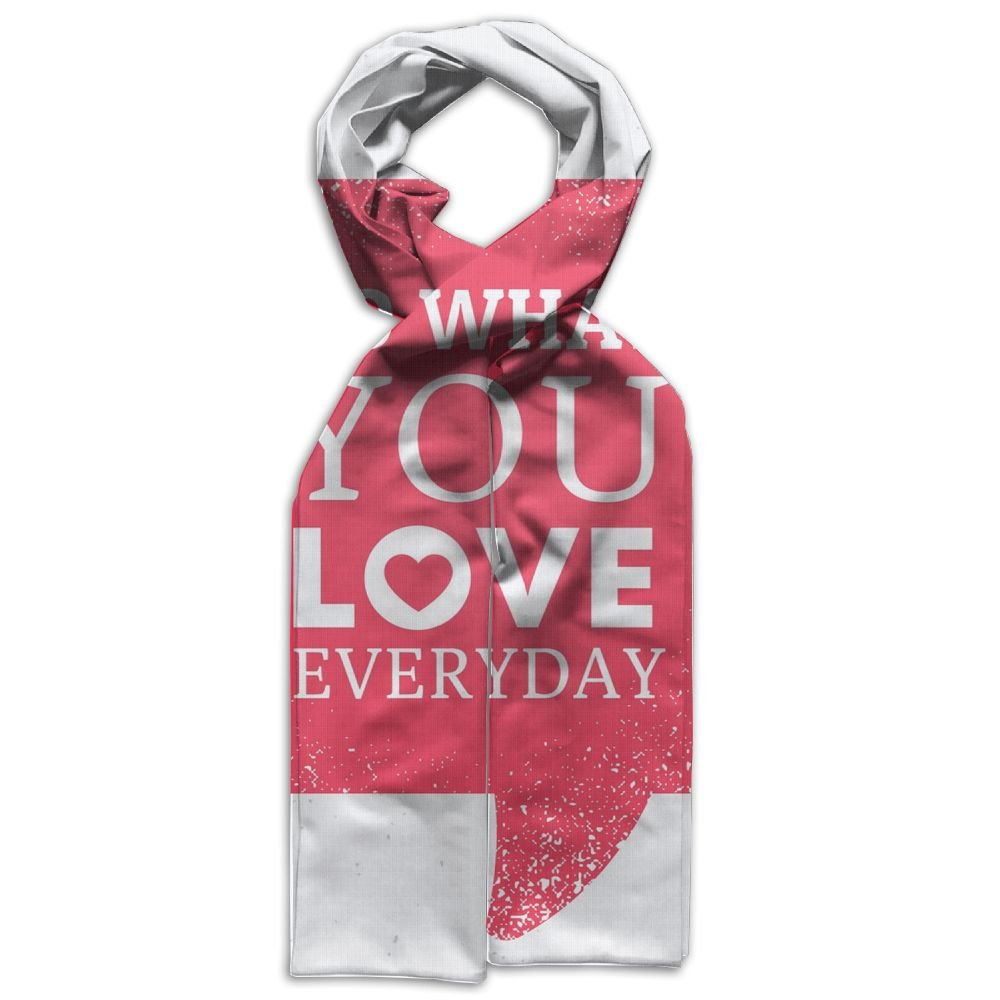 HFIUH5 Do What You Love Printing Scarf Warm Soft Fashion Scarf Shawl For Spring Autumn Winter Kids Boys Girls by HFIUH5 (Image #1)