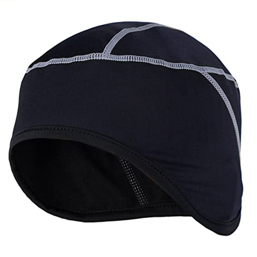 Arsuxeo PT01 Winter Thermal Cycling Cap Men Women Running Headwear Sports  Clothing (Gray) 11247f32335