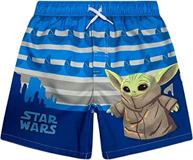 Dreamwave Boys Authentic Character Swim Trunk UPF 50