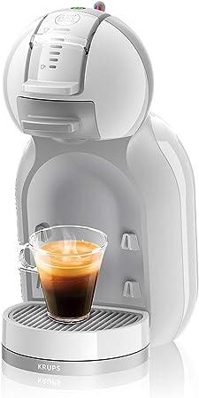 Krups Dolce Gusto Mini Me KP1201 - Cafetera de cápsulas, 15 bares de presión, color blanco y gris: Amazon.es: Hogar