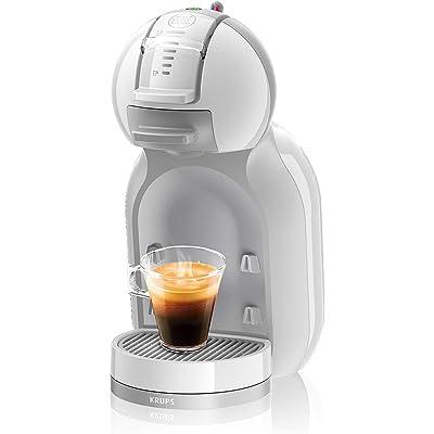 Krups Dolce Gusto Mini Me KP1201 - Cafetera de cápsulas, 15 bares de presión, color blanco y gris