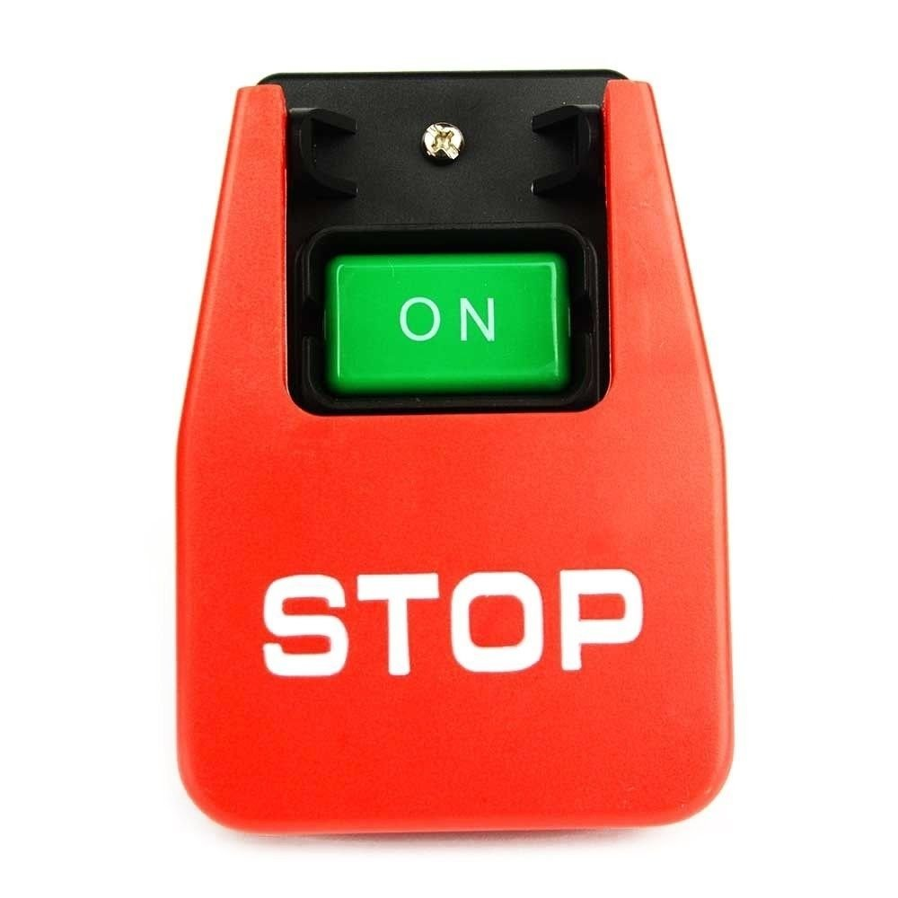 Emergency Shutoff Stop 110/220 Volt Paddle On/Off Switch. Table Saw Band Safety by ATOM